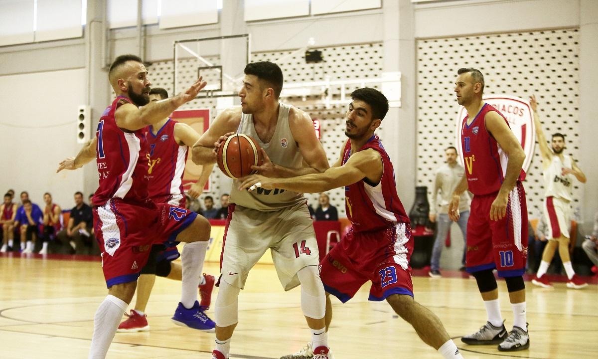 Α2 Ανδρών: Έσπασε το αήττητο του Χαρίλαου ο Ολυμπιακός Β' - Sportime.GR