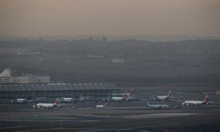 Ισπανία: Αναγκαστική προσγείωση αεροπλάνου (vid)