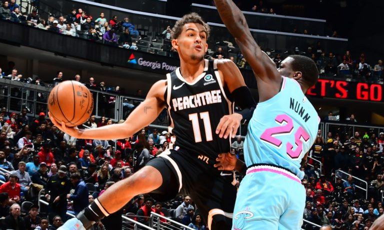NBA: Πενηντάρα ο Τρέι Γιανγκ, στους 39 σταμάτησε ο Εμπίιντ (vids)