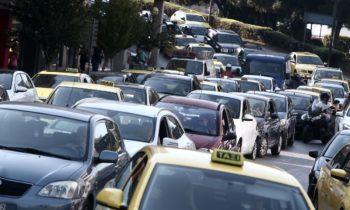 Απεργία 18/2: Χάος στους δρόμους της Αθήνας