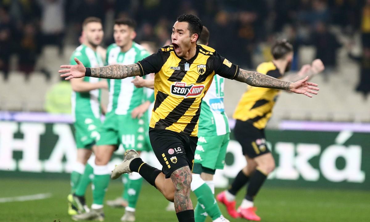 ΑΕΚ-Παναθηναϊκός 1-0: Με το… χτύπημα του Αραούχο!