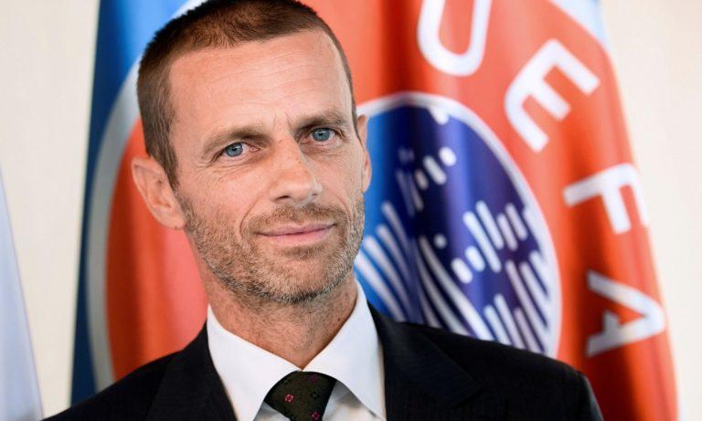 Στην Ελλάδα ο πρόεδρος της UEFA – Συνάντηση με Μητσοτάκη