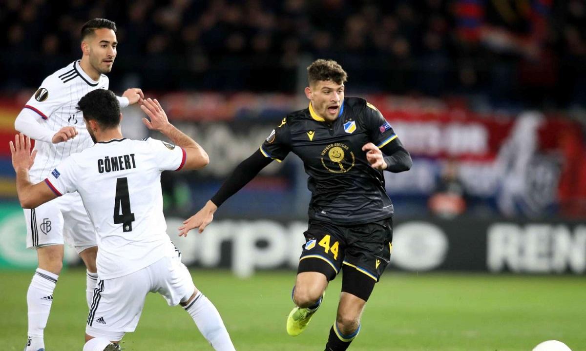 Εuropa League: «Αντίο» ο ΑΠΟΕΛ, προκρίθηκε η Ρόμα, δύο ασίστ ο Ποντένσε - Sportime.GR