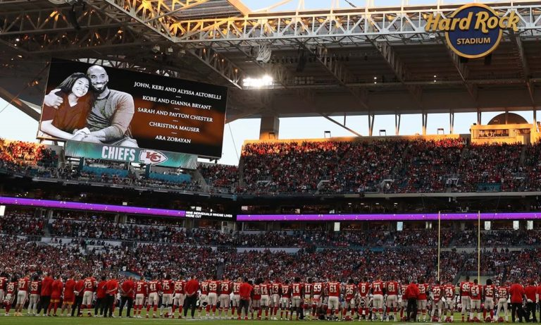 Super Bowl: Κανένας δεν ξέχασε τον Κόμπι και την Τζιάνα (vid)
