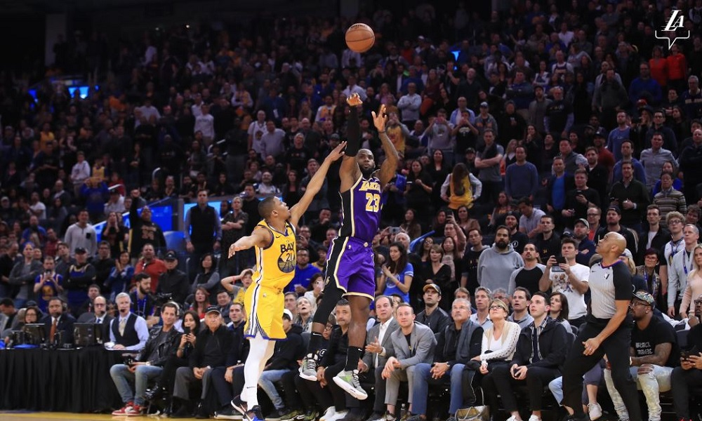 NBA: Νίκη για τους Λέικερς κόντρα στους Γουόριορς, βαριά ήττα για τους Κλίπερς (vids) - Sportime.GR