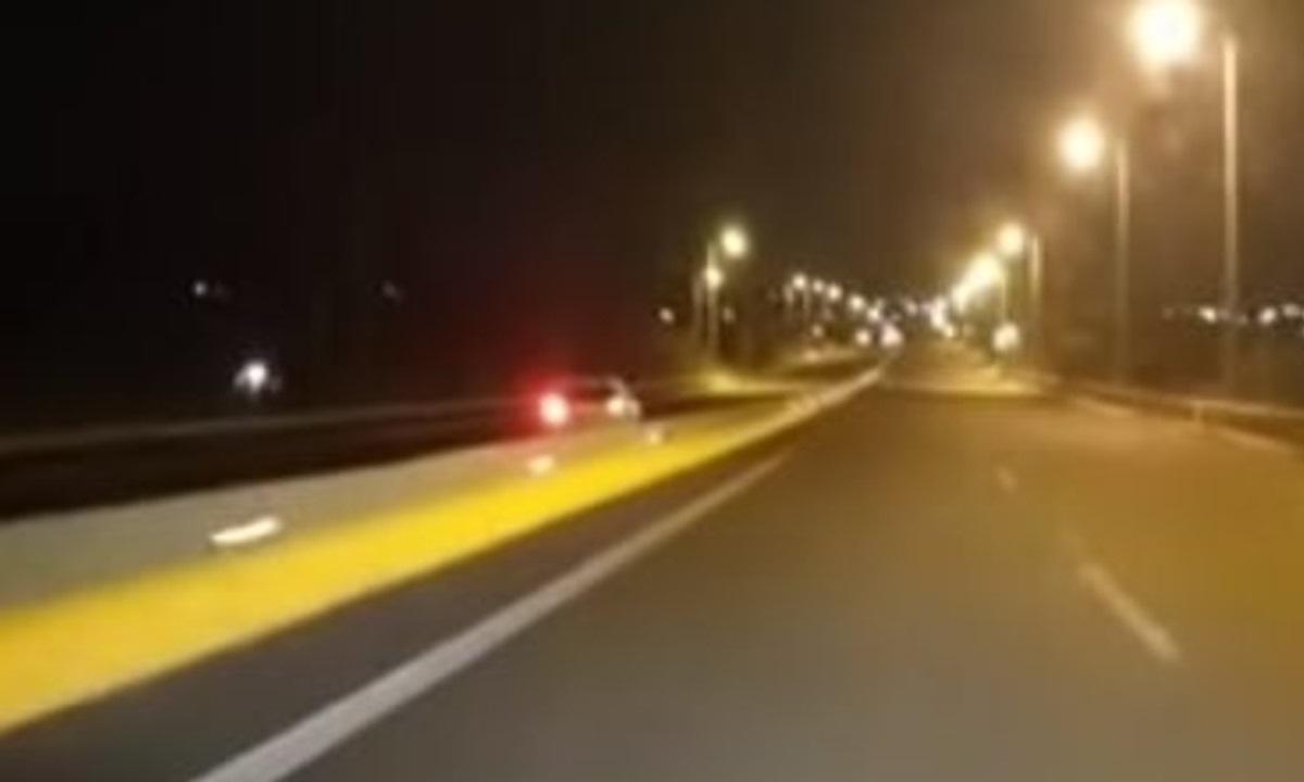 Κρήτη: Οδηγούσε για χιλιόμετρα στο αντίθετο ρεύμα του βόρειου οδικού άξονα (vid)