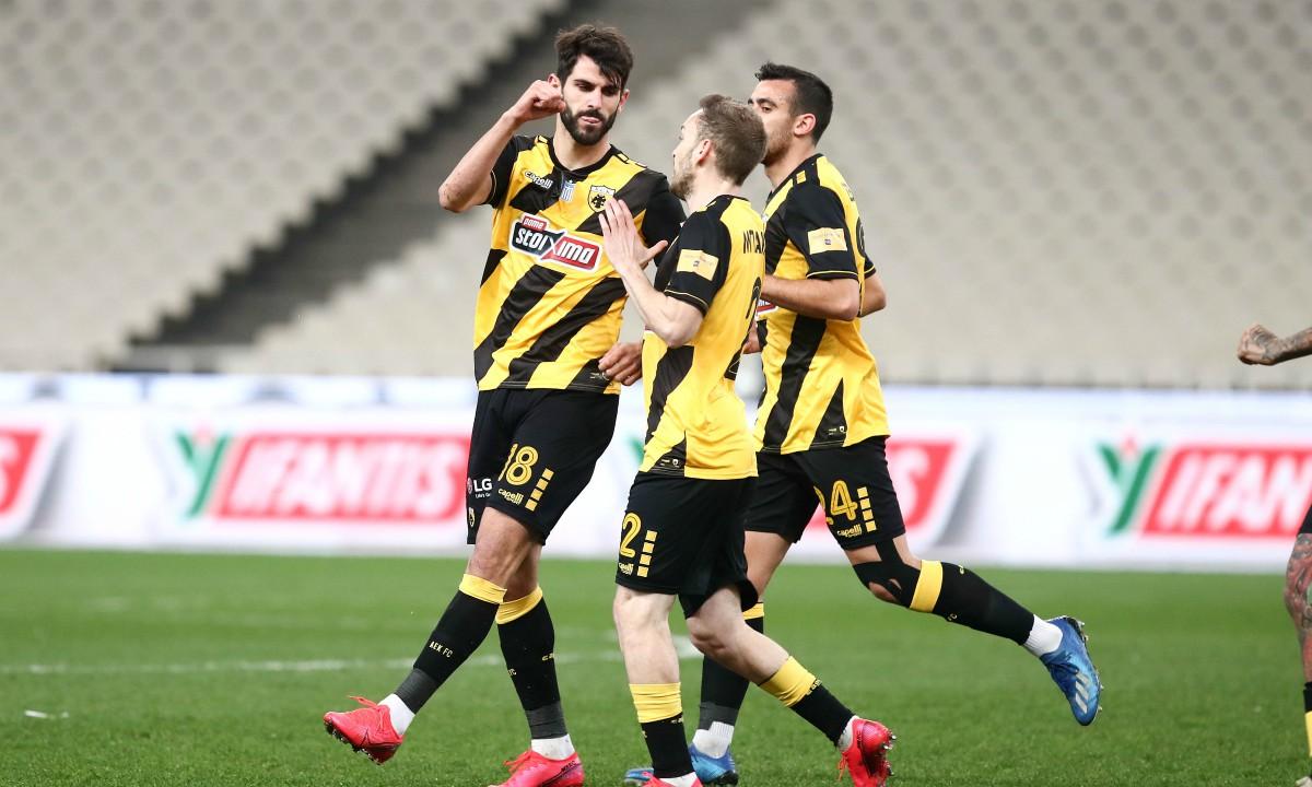 ΑΕΚ – Παναιτωλικός 4-0: Πρόκριση στο… σβηστό (vid)