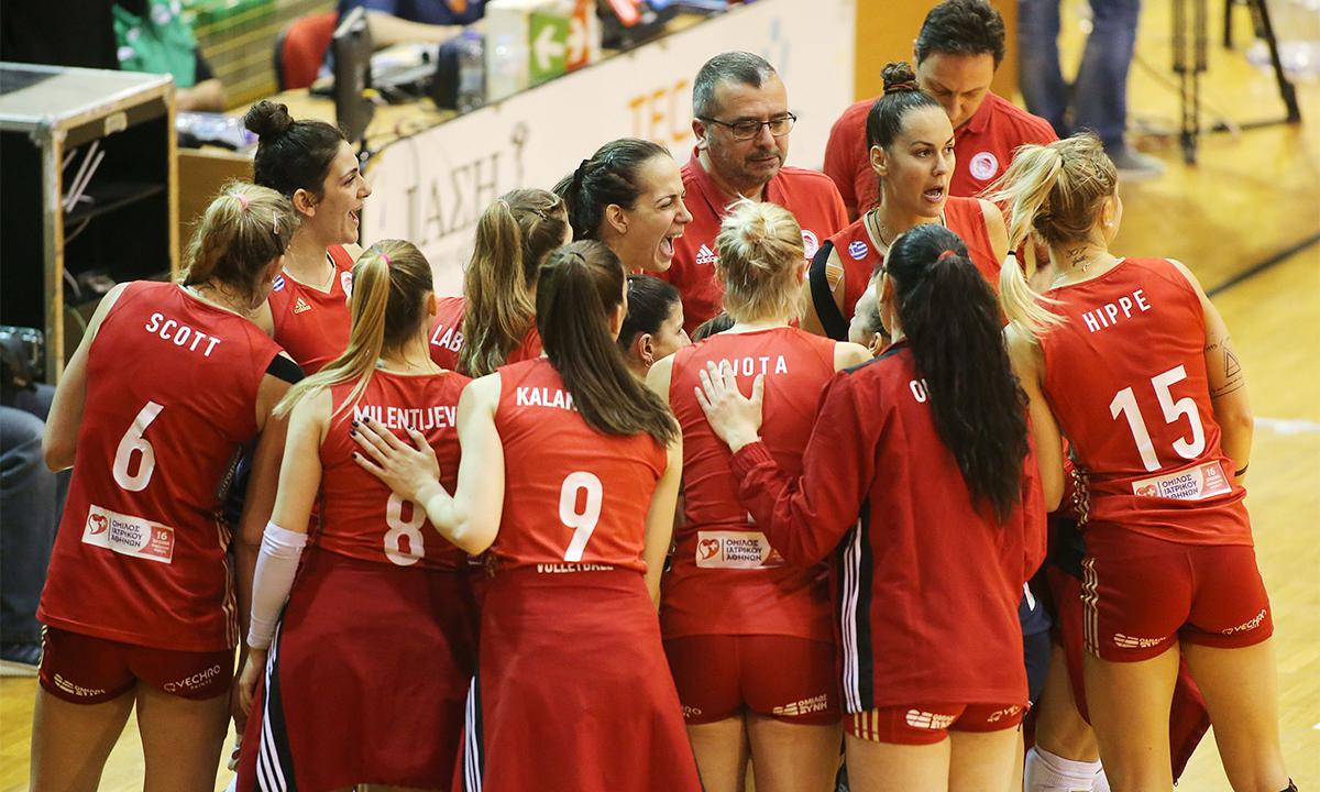 Μπεκεσκάμπα – Ολυμπιακός 1-3 σετ: Το πρώτο βήμα για τους «4» (vid)