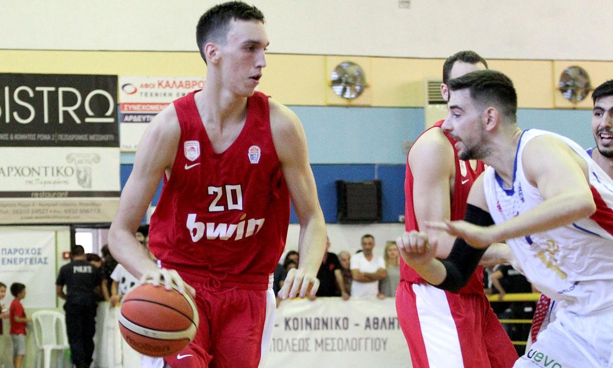 Α2 Ανδρών: Ματσάρα Ολυμπιακός-Χαρίλαος Τρικούπης - Sportime.GR