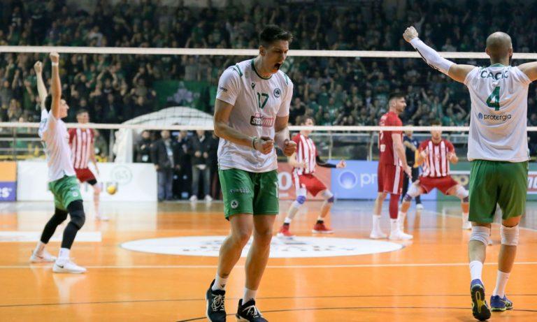 Παναθηναϊκός – Ολυμπιακός: Το 1v1 είναι «πράσινο»