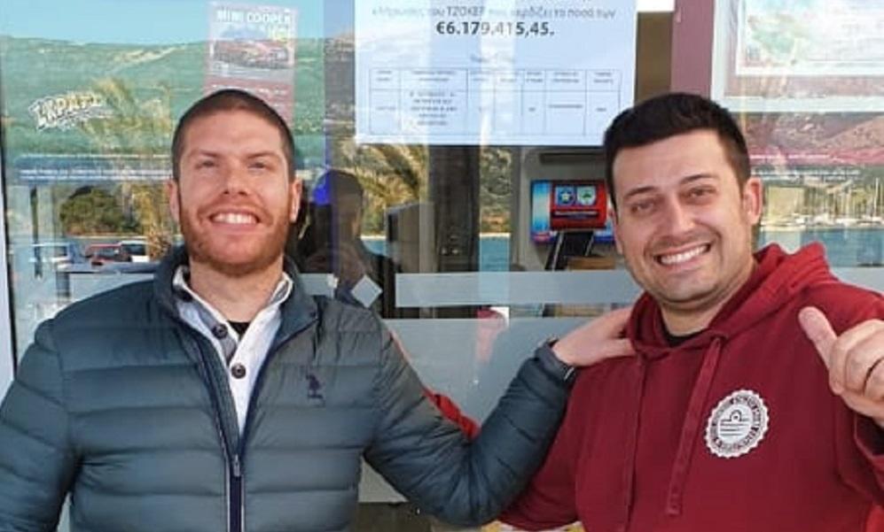 Στο Αργοστόλι το δελτίο ΤΖΟΚΕΡ των 6 εκατομμυρίων ευρώ – Τι λέει ο Κεφαλλονίτης ιδιοκτήτης του τυχερού πρακτορείου ΟΠΑΠ