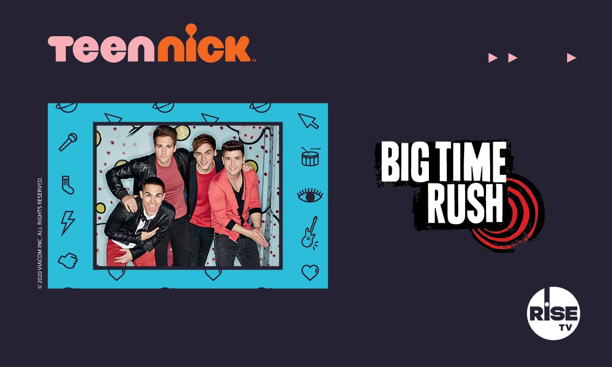 Big Time Rush : Έφτασαν στο TeenNick!