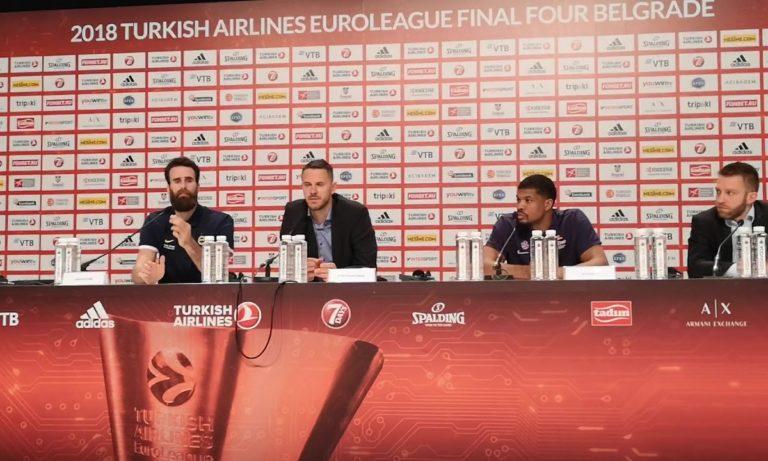 Νάχμπαρ: «Κοντά στην οριστική διακοπή της σεζόν στην Euroleague»