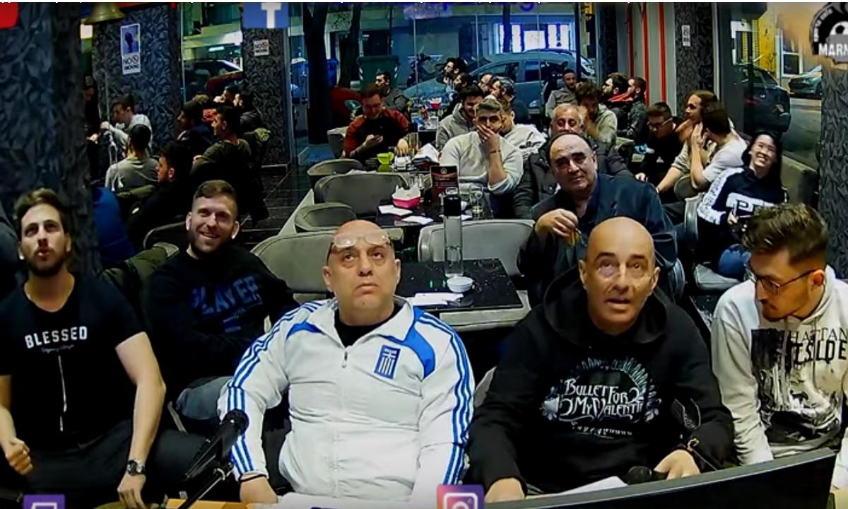 Ραπτόπουλος: Επικές αντιδράσεις στο ΠΑΟΚ – Ολυμπιακός, η προφητεία του «Ραπ» (vid) - Sportime.GR