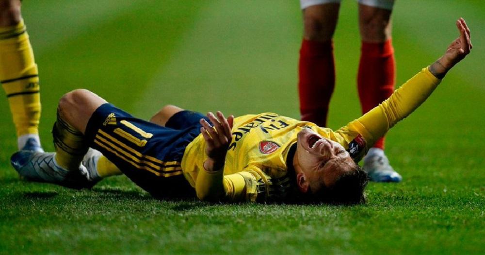 Άρσεναλ: Πολύ σκληρό τάκλιν και τραυματισμός για Τορέιρα (vid)