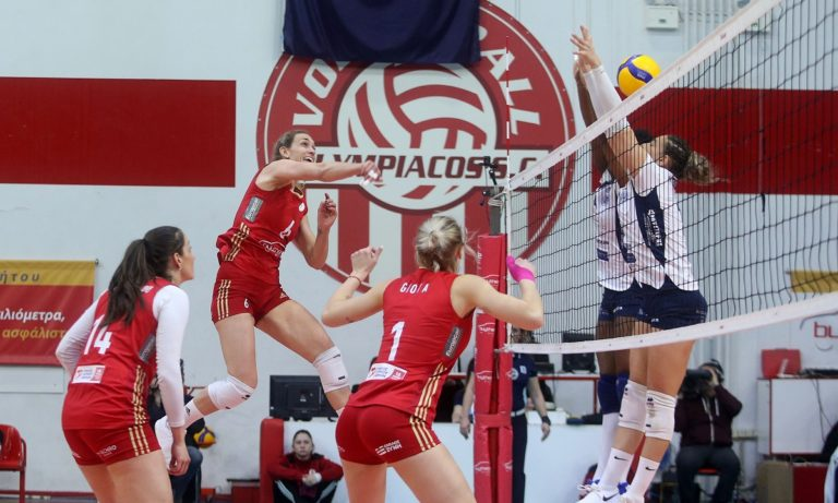 Volleyleague Γυναικών: Σταθερά πρώτος ο Ολυμπιακός