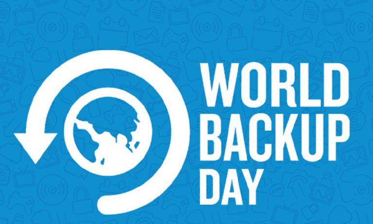 Σαν Σήμερα 31/3: Παγκόσμια ημέρα back up