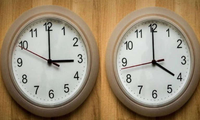 Πότε αλλάζει η ώρα: Απόψε (29/3) γυρίζουμε το ρολόι