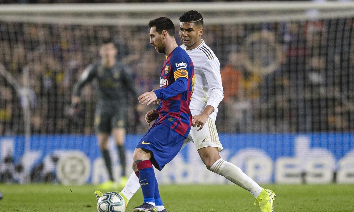 Ρεάλ Μαδρίτης – Μπαρτσελόνα: Αυτό είναι το κανάλι της αναμέτρησης. H Ρεάλ Μαδρίτης υποδέχεται τη Μπαρτσελόνα στο «Σαντιάγο Μπερναμπέου» στο ντέρμπι κορυφής της La Liga.