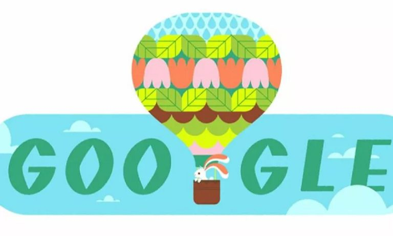 Google Doodle: Kαλωσορίζει την Άνοιξη