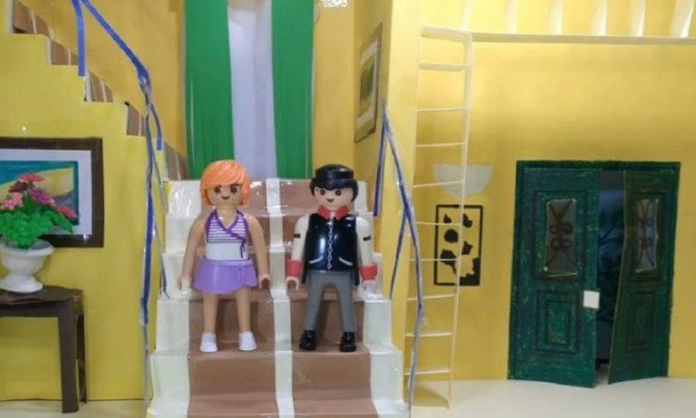 Κωνσταντίνου και Ελένης: Γκαρσόνα και… Κατακουζήνα έγιναν Playmobil (vid)