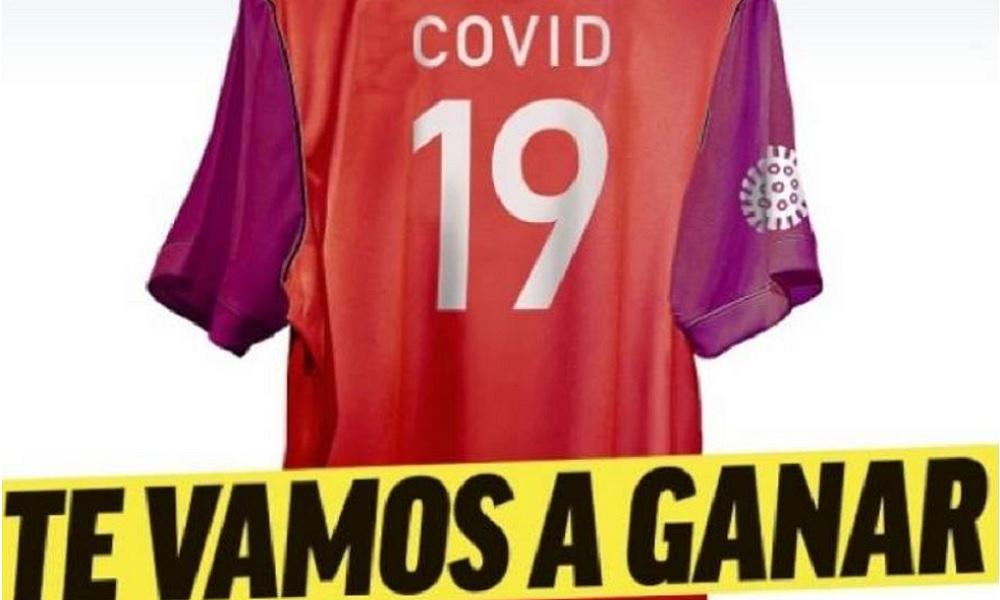 Κορονοϊός: Το καταπληκτικό πρωτοσέλιδο της Marca