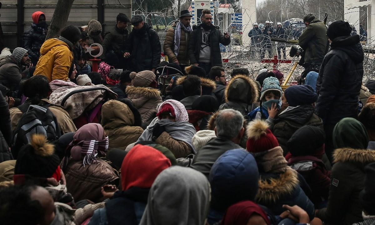 Τουρκία: Μήνυμα για την εκκένωση καταυλισμών στα σύνορα