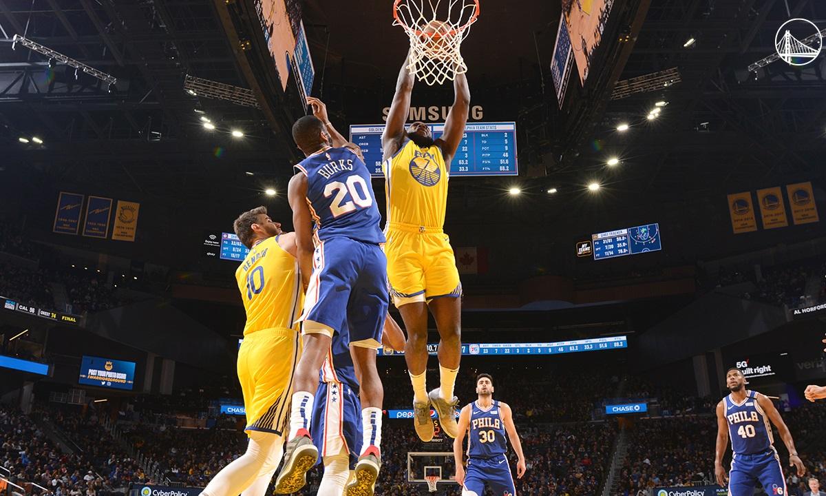 NBA: Νίκη για τους Γουόριορς χωρίς Κάρι, ηττήθηκαν από τους Χόρνετς οι Ρόκετς (vids)