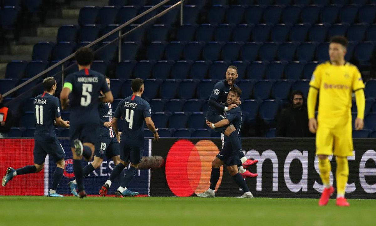 Παρί Σεν Ζερμέν – Μπορούσια Ντόρτμουντ 2-0: Έσπασε την κατάρα και… πέταξε για τους «8» (vid) - Sportime.GR