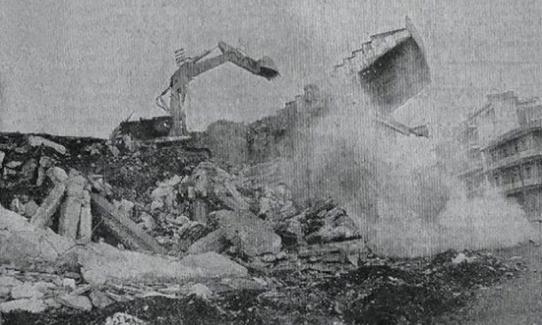 ΠΑΟΚ: Όταν κατέρρευσε η θύρα 8 της Τούμπας (pics)