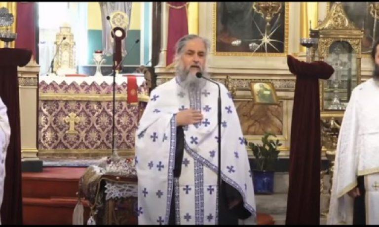 ΑΚΟΥΣΤΕ ΤΗΝ! Ομιλία καρδιάς από ιερέα στα πευκάκια: «Αίσχος σε αρχιερείς και πολιτικούς!» (vid)