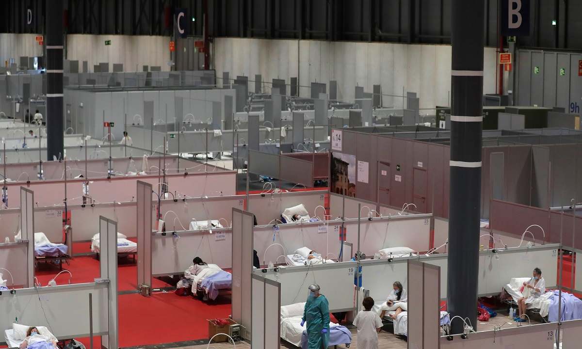 Κορoνοϊός στην Ισπανία: 809 νέοι θάνατοι σε 24 ώρες!