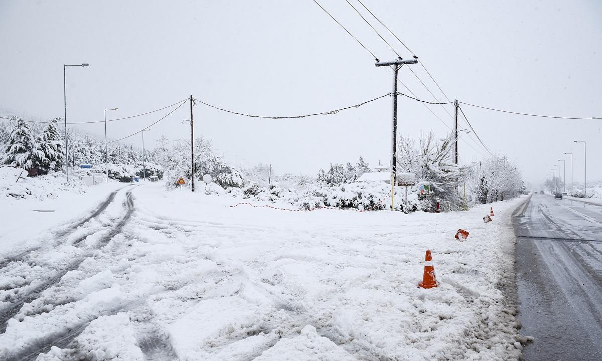 Καιρός: Χιόνι 30 εκατοστών σε Ευρυτανία και Δυτική Φθιώτιδα!