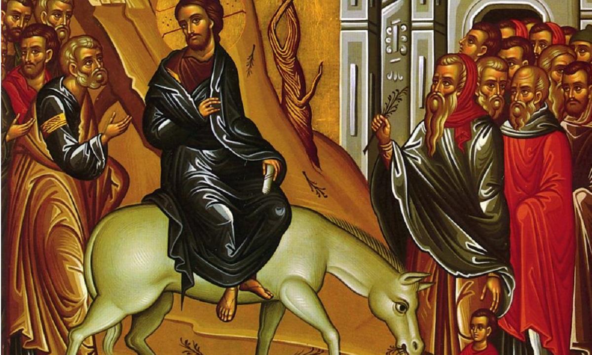 Εορτολόγιο Κυριακή 12 Απριλίου: Κυριακή των Βαΐων
