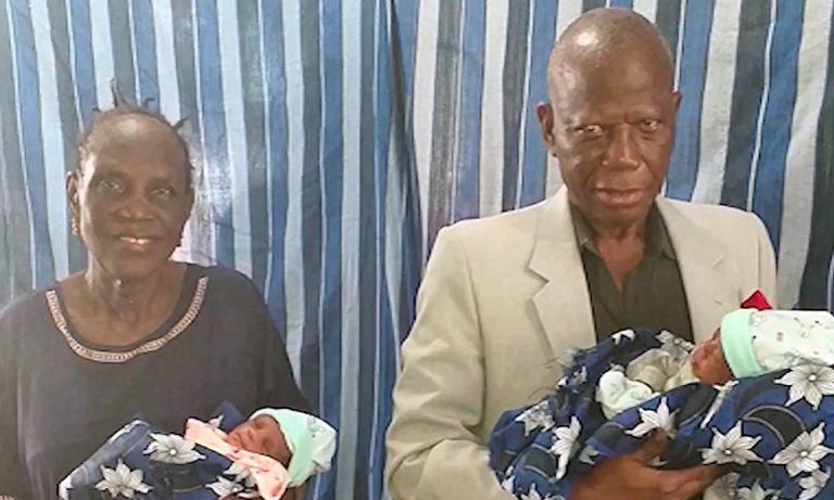 Απίστευτο! Έκανε δίδυμα στα 68 της χρόνια – Η γηραιότερη μητέρα στην Αφρική