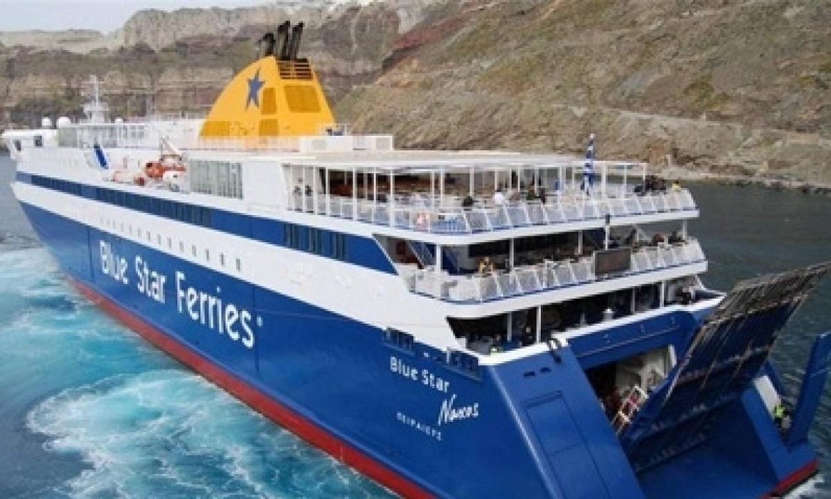 Τραγωδία στο «Blue Star Naxos» με νεκρό επιβάτη (vid)