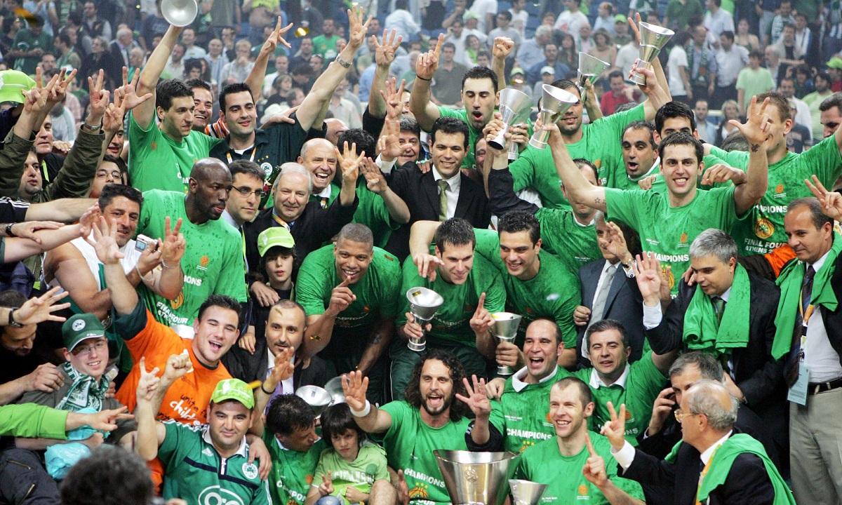 Παναθηναϊκός 2007- Euroleague