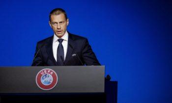 UEFA: Πακέτο διάσωσης 70 εκατ. ευρώ για τις εθνικές ομάδες