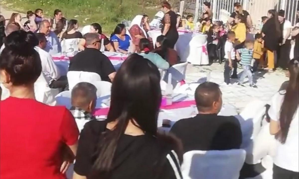 Ζεφύρι: Αρραβώνας Ρομά με 200 άτομα – Το drone τους εμπόδισε! (pics+vids)