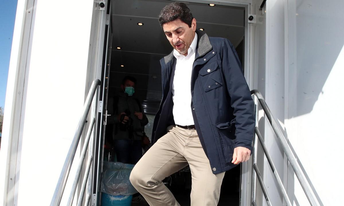Αυγενάκης: Τι είπε για την επόμενη μέρα στα σπορ (vid)