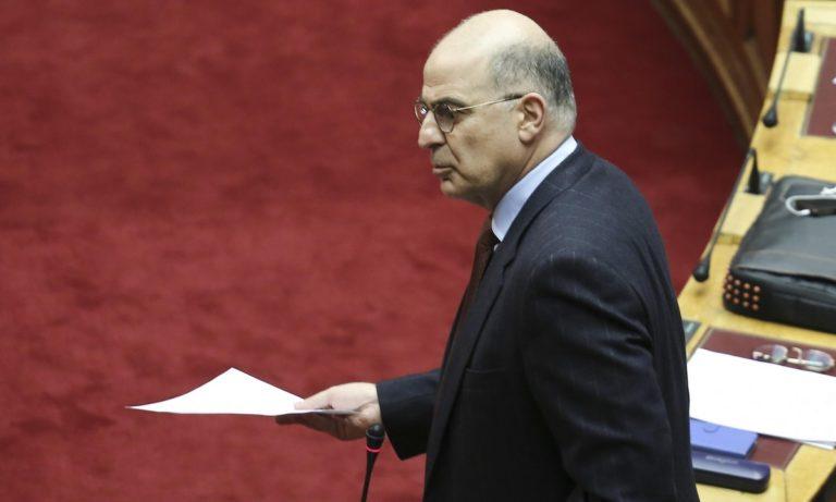 Νίκος Δένδιας: Επικοινωνία με τον υπουργό Εξωτερικών της Αρμενίας