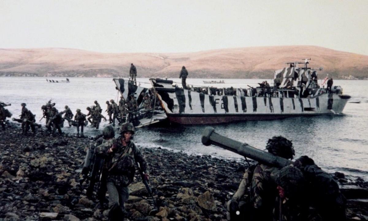 Πόλεμος των Φόκλαντς: Η μάχη Βρετανίας-Αργεντινής