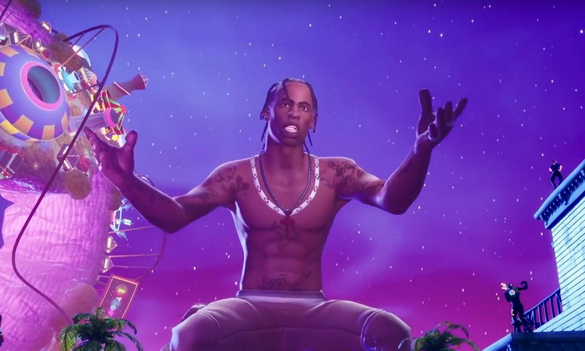 Χαμός στο Fortnite: 12,3 εκατομμύρια παίκτες για τη συναυλία του Travis Scott! (vid)
