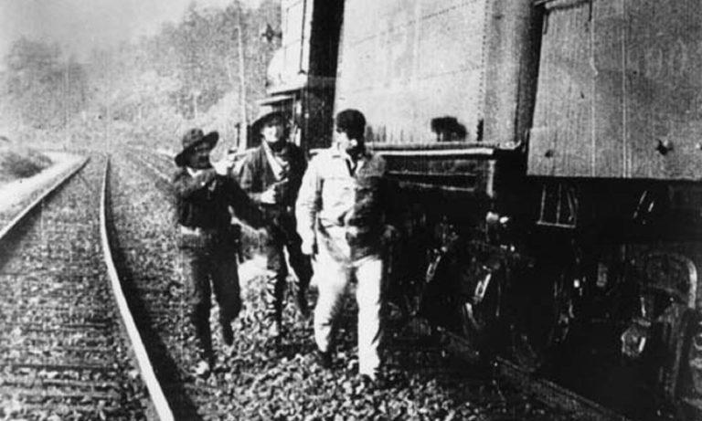1924: Η πρώτη ληστεία τρένου στην Ελλάδα είχε περούκες, μούσια και θύμα έναν Υπουργό
