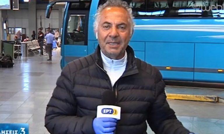 Έπος: Ο Γιώργος Μίνος κάνει ρεπορτάζ στα ΚΤΕΛ και μιλάει για τον ΠΑΟΚ! (vid)