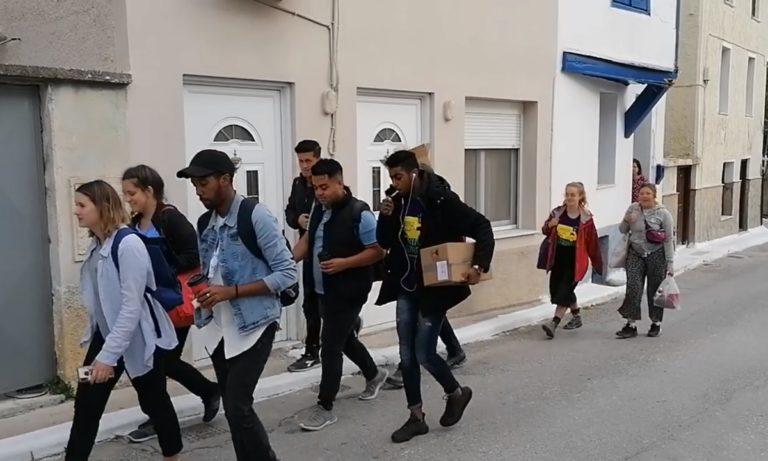 Μόρια: Καραντίνα οι κάτοικοι, παρέλαση ομάδα ΜΚΟ