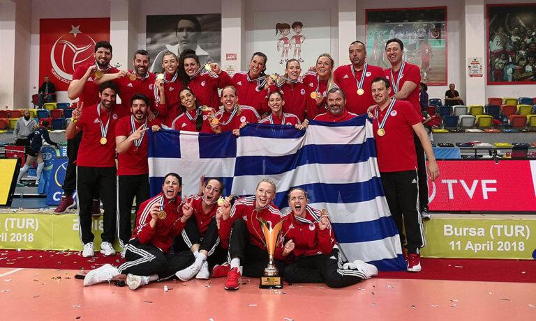 Ολυμπιακός: Η μεγαλύτερη στιγμή του γυναικείου βόλεϊ της Ελλάδας (vids+pics)