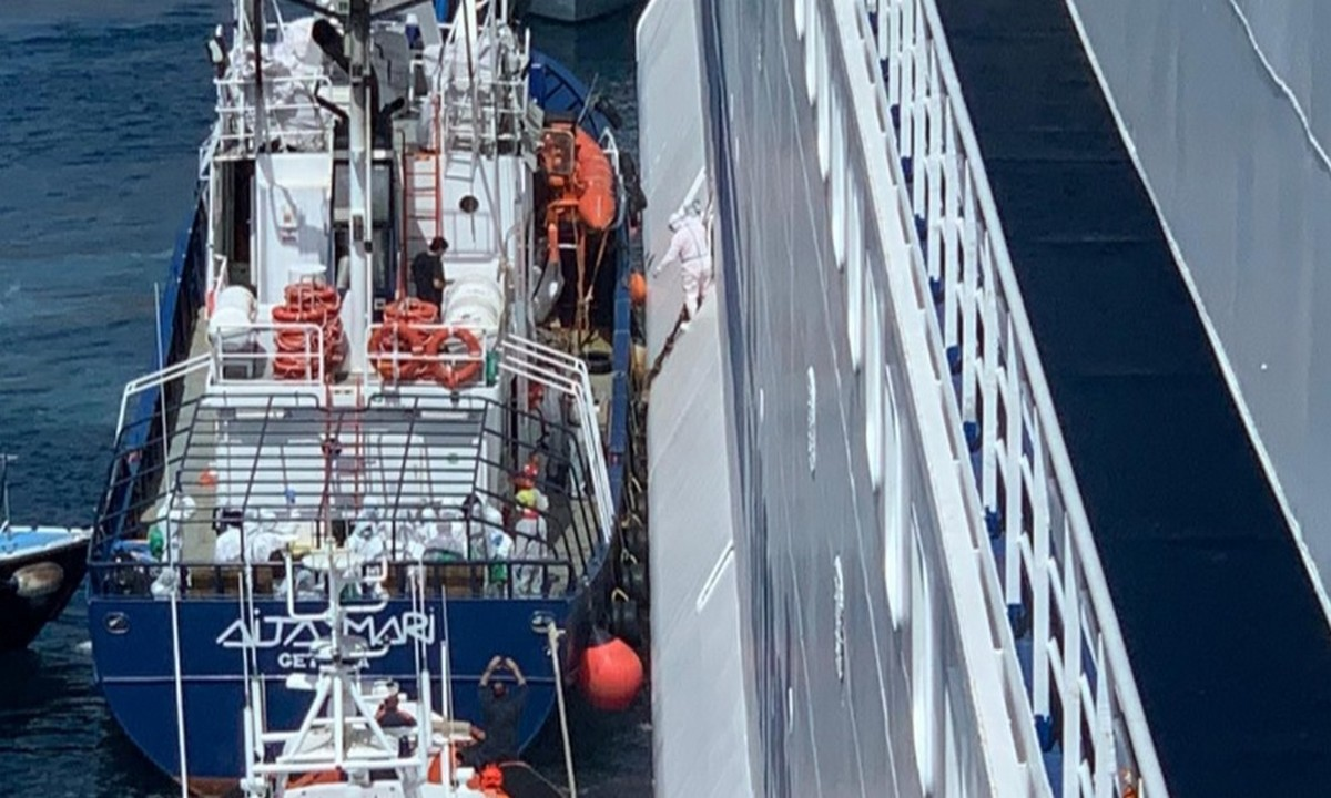 Ιταλία: Σε καραντίνα 180 μετανάστες που διασώθηκαν στη θάλασσα