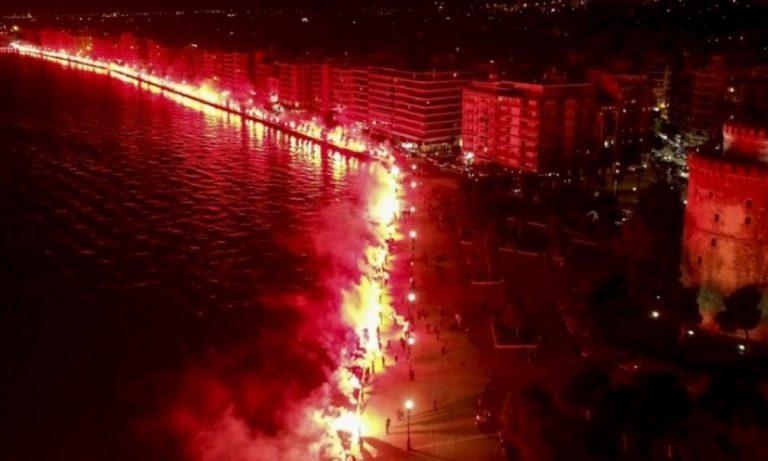 ΠΑΟΚ: Το pyroshow στη Θεσσαλονίκη, που έγραψε ιστορία! (vids)