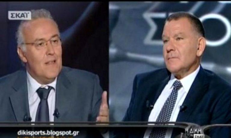 Κούγιας σε Θωμαΐδη: «Συνεργάζεσαι με τον εχθρό του ΠΑΟΚ»